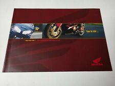 Prospectus Catalogue Brochure Honda Gamme 2001 Denmark