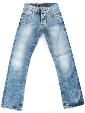 B-Ware | Nudie Herren Regular BootCut Jeans |Slacker Jack Light Worn | W29 L32