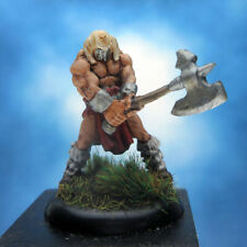 Painted Reaper BONES Miniature Evil Warrior with Axe