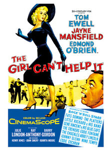 Fifties - The Girl Can't Help It movie poster reprint (1956)