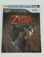 The Legend of Zelda Twilight Princess Nintendo Power Wii Strategy Guide w/Poster