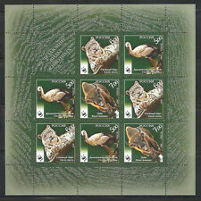 Russia 2007,M/S,Wildlife,Fauna,Worldwide Fund for Nature WWF,Sc 7048a,VF MNH**