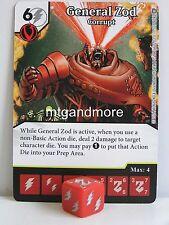 GENERAL ZOD CORRUPT 117//142 World/'s Finest Dice Masters Rare