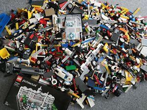 Lego 7,2 Kg Sammlung, Kilo, Bausteine aus Basic, Technic, City, Konvolut