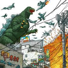 "GODZILLA Signed ART PRINT Gangsters & Goliaths #5 Cover GEOF DARROW 19 x 13"" NEW"