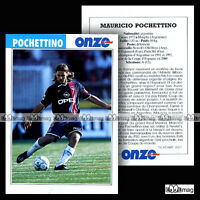 POCHETTINO MAURICIO (PSG, PARIS SAINT-GERMAIN) - Fiche Football 2001