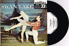 "ANDRE KOSTELANETZ - SWAN LAKE - TCHAIKOVSKY - RARE 7"" 45 E.P RECORD w PICT SLV"