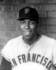 1960 San Francisco Giants WILLIE MCCOVEY Glossy 8x10 Photo Baseball Print Poster