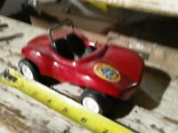 VINTAGE 1970's TONKA FUN BUGGY RED PRESSED STEEL MADE IN USA