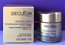 Decleor OREXCELLENCE ENERGY CONCENTRATE YOUTH EYE CARE 15ml BNIB