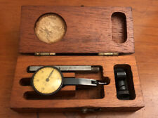 Vintage Brown Amp Sharpe Dial In Set Jeweled 001 Tool With Wooden Box