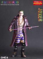 Crazy Toys Suicide Squad Joker Real Clothes 1/6 Action Figur Statue Figuren OVP