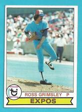 1979 Topps #15 Ross Grimsley Montreal Expos