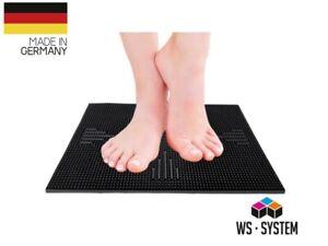 Fußreflexzonen Reflexzonen Massagematte Duschmatte Fußreflexzonen-Vital-Matte