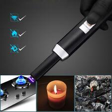 Lichtbogen Elektronisches USB Grill Feuerzeug Zigarettenanzünder Kerzenanzünder