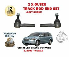 Para Chrysler GRAND VOYAGER RT 2007-2010 NUEVO 2x Exterior Eje Tie End Set