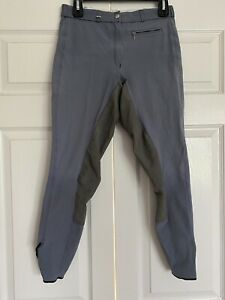 Pikeur Blue Full Seat Riding Breeches Made In Germany US Size 28