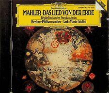 DG FULL SILVER W.GERMANY- Mahler: Das Lied von der Erde GIULINI CD Fassbaender