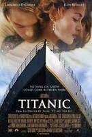 Titanic Movie POSTER 27 x 40 Kate Winslet, Leonardo DiCaprio, A