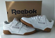 NEW Reebox Classic Workout Plus Size 11 White Leather/Gum CN2126 w/ OG Box