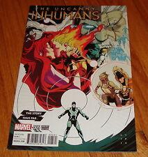 Uncanny Inhumans #5 Kris Anka Story Thus Far Variant Edition 1st Print