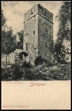 cartolina BORDIGHERA torre dei mostaccini