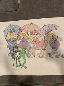 vintage muppets pillow case