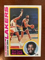 1978-1979 Topps basketball card Kareem Abdul-Jabbar HOF Los Angeles Lakers