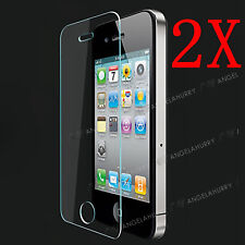 2X iphone 5C 9H Full Coverage Tempered Glass Film CURVED 3D protection For Apple