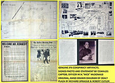 ORIGINAL SIGNED JFK ASSASSINATION KENNEDY CONSPIRACY SPRAGUE MUSEUM MEMORABILIA