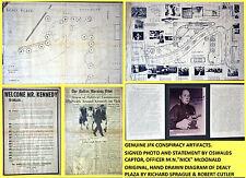 ORIGINAL SIGNED JFK ASSASSINATION KENNEDY CONSPIRACY SPRAGUE MUSEUM MEMORABILIA