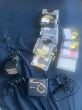 Sony-R700 Blue Md Digital Huge Lot Player Remote Ac Cables Headphones And Discs
