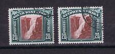 DE223 SOUTH WEST AFRICA 1931 Local motives 20/ SG 85 used