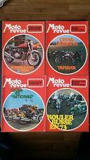 Moto Revue 1973 incomplet