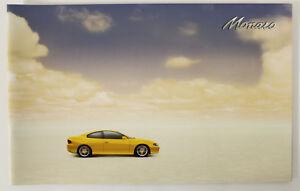 New Holden Monaro V2 Series 2 Coupe Sales Brochure Memorabilia Devil Yellow