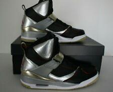 Jordan Flight 45 High Nike Mens Sz 10 Basketball Blk/Rd/Mtlc Slvr/Gd 616816 052