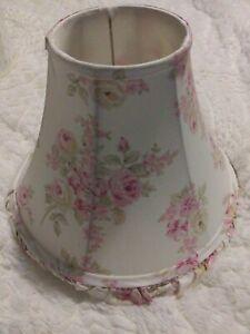VINTAGE RACHEL ASHWELL SIMPLY SHABBY CHIC LAMP SHADE BLUSHED ROSE