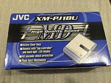 JVC Blue Portable MiniDisc Player XM-PJ1BU , Sealed, MD. Never Used.