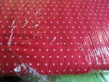 Christmas Figs II Cotton Fabric 1 Yard by Moda White Stars on Red