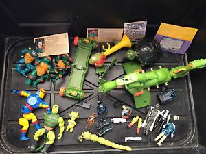 Vintage TMNT Teenage Mutant Ninja Turtles  Blimp Parts Accessories Lot Others