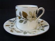 WEDGWOOD BEACONSFIELD DEMI TASSE SMALL COFFEE CUP AND SAUCER
