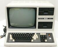 Radioshack TRS-80 Model 4 Retro Vintage Computer 164k Memory Dual Floppy Tested