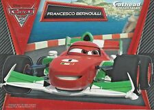 FRANCESCO BERNOULLI DISNEY PIXAR CARS 2 FATHEAD TRADEABLES REMOVABLE STICKER