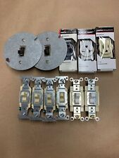 Lot Of Various Electrical Outlets And Switches