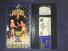 WCW Halloween Havoc '94 (VHS, 1994) WWF WWE NWO NWA HULK HOGAN RIC FLAIR RARE
