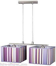 Plafonniers Lumière Lampe LAMPEX 096/2 Violado 2 Suspension VIOLET E27 NEUVE