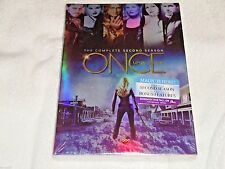 Once Upon a Time Complete Second Season, Season 2,(DVD,2013,5-Disc) New & Sealed