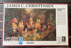 F.X. Schmid James Christensen Once Upon A Time 1000 Piece Jigsaw Puzzle 1993