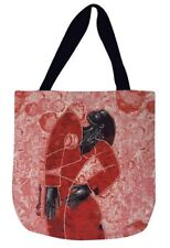 "Definitely Delta African American Woman Tapestry Tote Bag ~ Larry ""Poncho"" Brown"