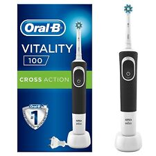 Brosse à Dents Électrique Oral-B Vitality 100 Cross Action Nettoyage Quotidien